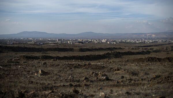 Pohled na Golanské výšiny - Sputnik Česká republika
