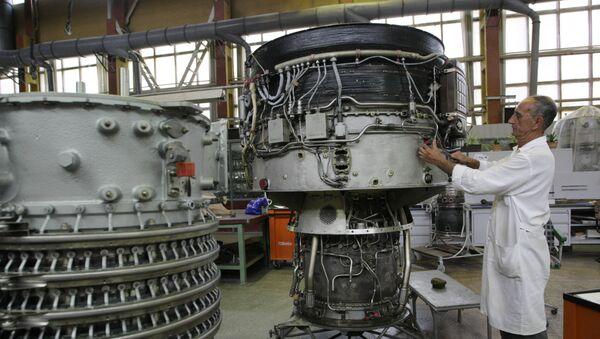 Podnik Motor Sič v Záporoží na Ukrajině - Sputnik Česká republika