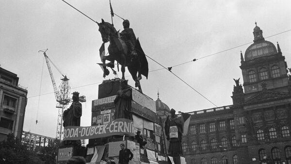 Václavské náměstí, 1968 - Sputnik Česká republika