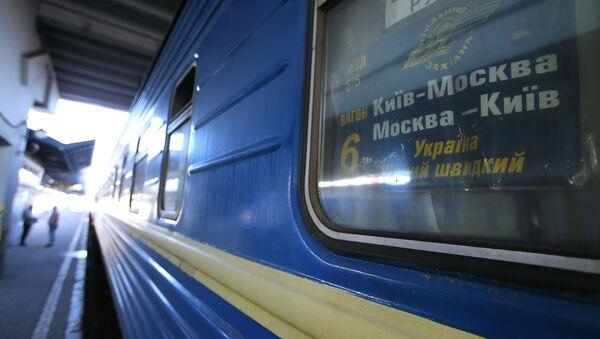 Hlavní nádraží v Kyjevě - Sputnik Česká republika