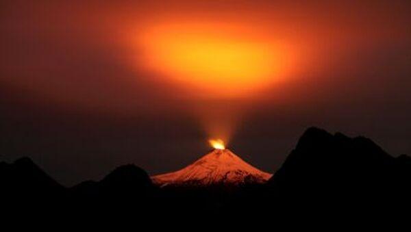 Pohled na sopku Villarrica v Chile - Sputnik Česká republika
