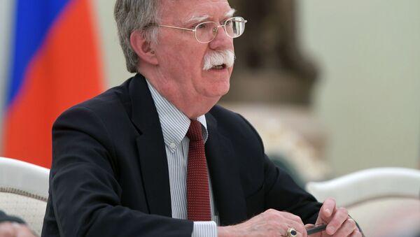 Poradce prezidenta USA pro národní bezpečnost John Bolton - Sputnik Česká republika