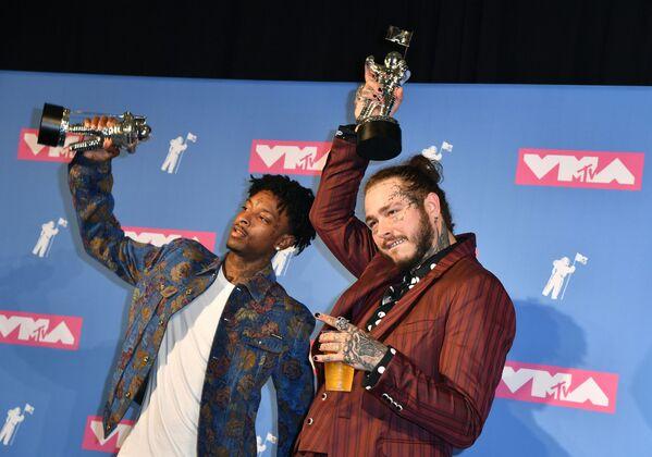 Skoro bez oblečení. Udělování cen 2018 MTV Video Music Awards - Sputnik Česká republika