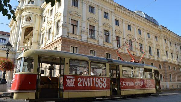 Tramvaj v Bratislavě - Sputnik Česká republika