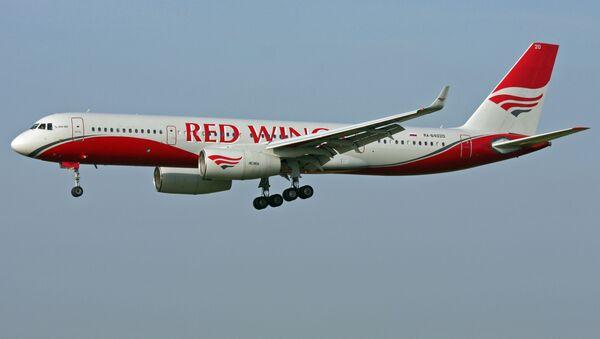 Letadlo Tu-204 spoelčnosti Red Wings. Archivní foto - Sputnik Česká republika