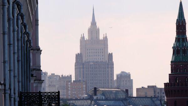 Высотное здание министерства иностранных дел РФ - Sputnik Česká republika