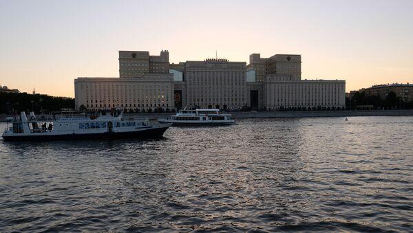 Budova ruského ministerstva obrany v Moskvě - Sputnik Česká republika