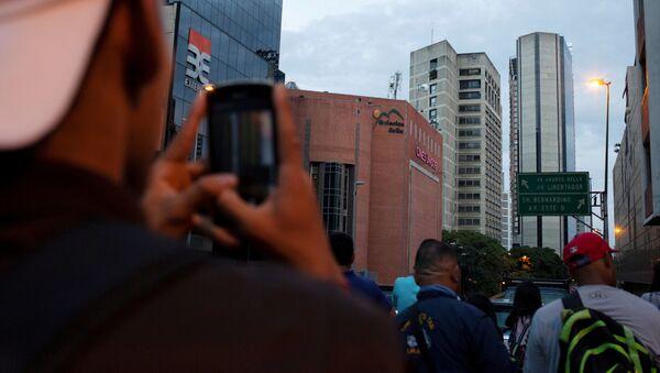 Věž Davida v Caracasu - Sputnik Česká republika
