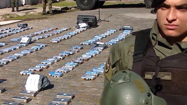 V Argentině spálili téměř půl tuny kokainu, který byl nalezen na ruském velvyslanectví - Sputnik Česká republika