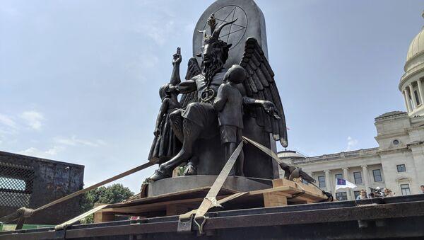 Socha Bafometa - Sputnik Česká republika