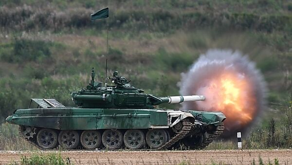 Íránský tank - Sputnik Česká republika