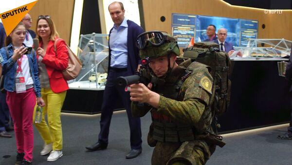 Exoskelet pro výstroj vojáka budoucnosti - Sputnik Česká republika