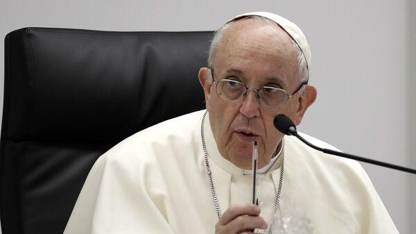 Papež Francis - Sputnik Česká republika