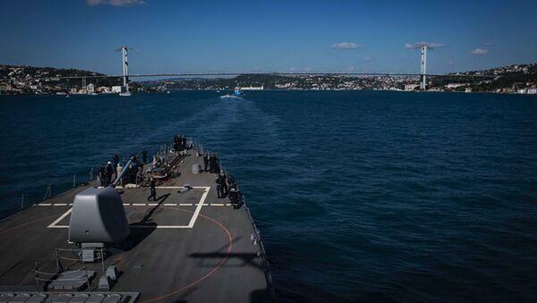 Americký torpédoborec USS Carney v Černém moři - Sputnik Česká republika