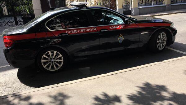 Auto vyšetřovacího výboru RF. - Sputnik Česká republika