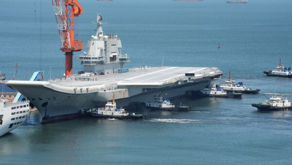 Čínská letadlová loď Type 001A - Sputnik Česká republika