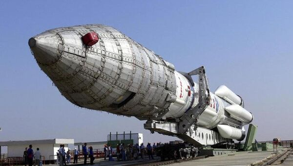 Nosná raketa těžké třídy Angara A5 - Sputnik Česká republika