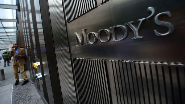 Логотип агентства Moody's Investors Service - Sputnik Česká republika