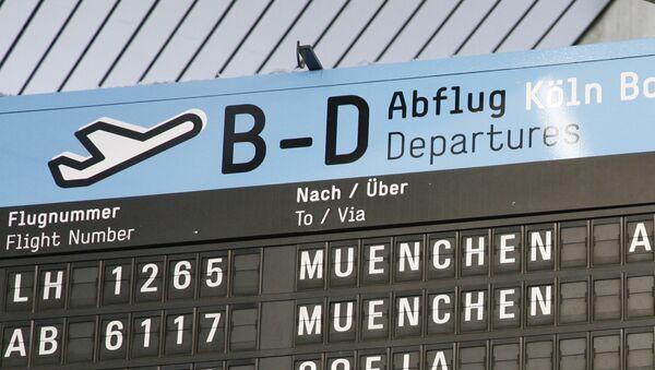 Německé letiště. Ilustrační foto - Sputnik Česká republika