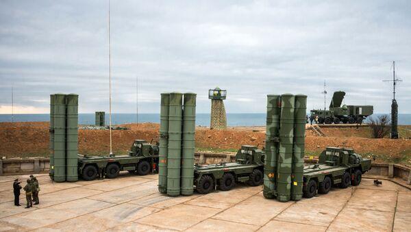 Ruský systém protivzdušné obrany S-400 Triumf - Sputnik Česká republika