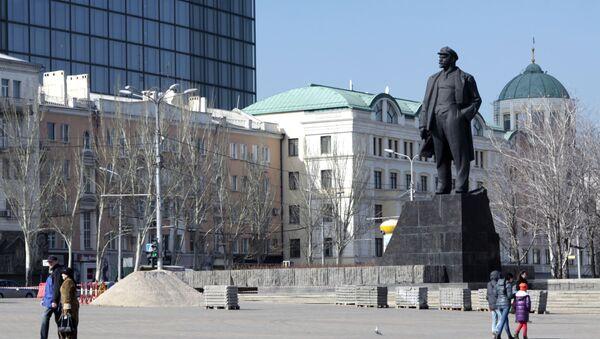 Centrum Doněcka. Náměstí Lenina. Ilustrační foto - Sputnik Česká republika