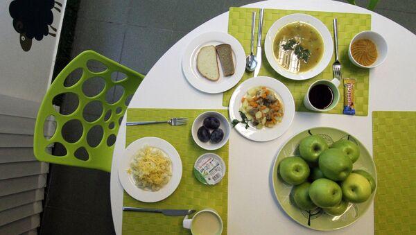 Oběd. Ilustrační foto - Sputnik Česká republika