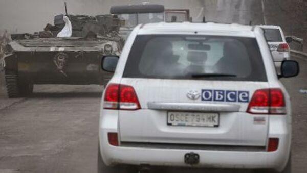 Pozorovatelé OBSE - Sputnik Česká republika