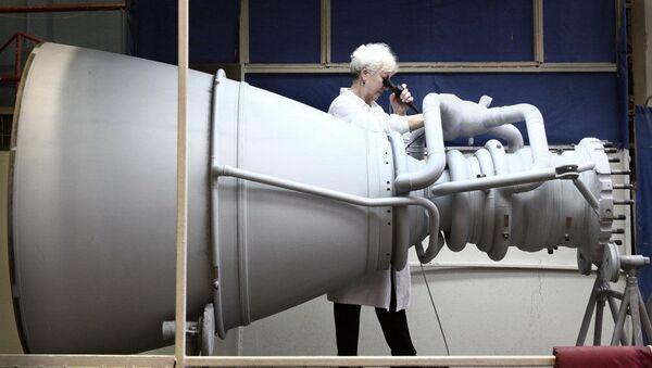 Raketový motor společnosti NPO Energomaš - Sputnik Česká republika