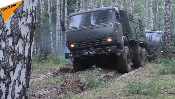 Cvičení v Jekatěrinburské oblasti - Sputnik Česká republika