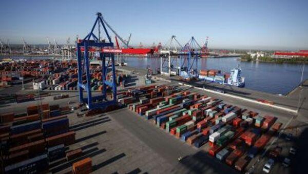 Pohled na přístav. Ilustrační foto - Sputnik Česká republika