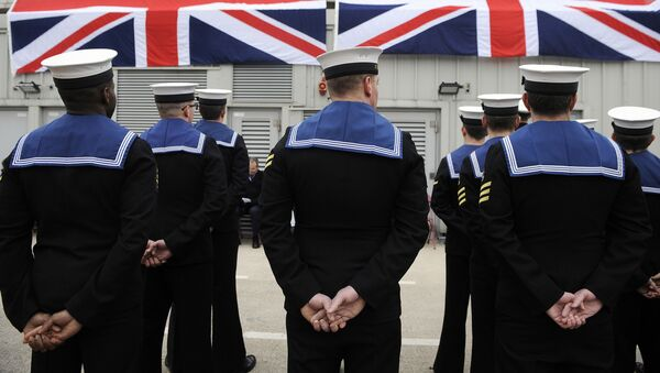 Britští námořníci - Sputnik Česká republika