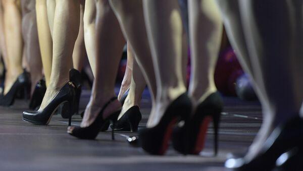 Ženské nohy. Ilustrační foto - Sputnik Česká republika