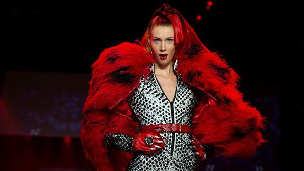 Sexualita a šok na týdnu módy v New Yorku - Sputnik Česká republika