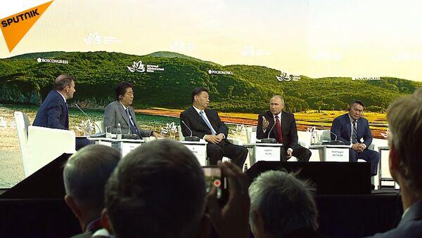 Pojďme uzavřít mírovou smlouvu. Putinův projev ohledně smlouvy s Japonskem (VIDEO) - Sputnik Česká republika