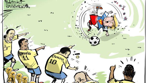Tite odpověděl Trumpovi za Brazílii - Sputnik Česká republika