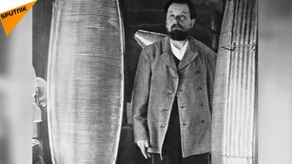 Ruský vědec Konstantin Ciolkovskij - Sputnik Česká republika