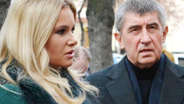 Monika Babišová a Andrej Babiš - Sputnik Česká republika