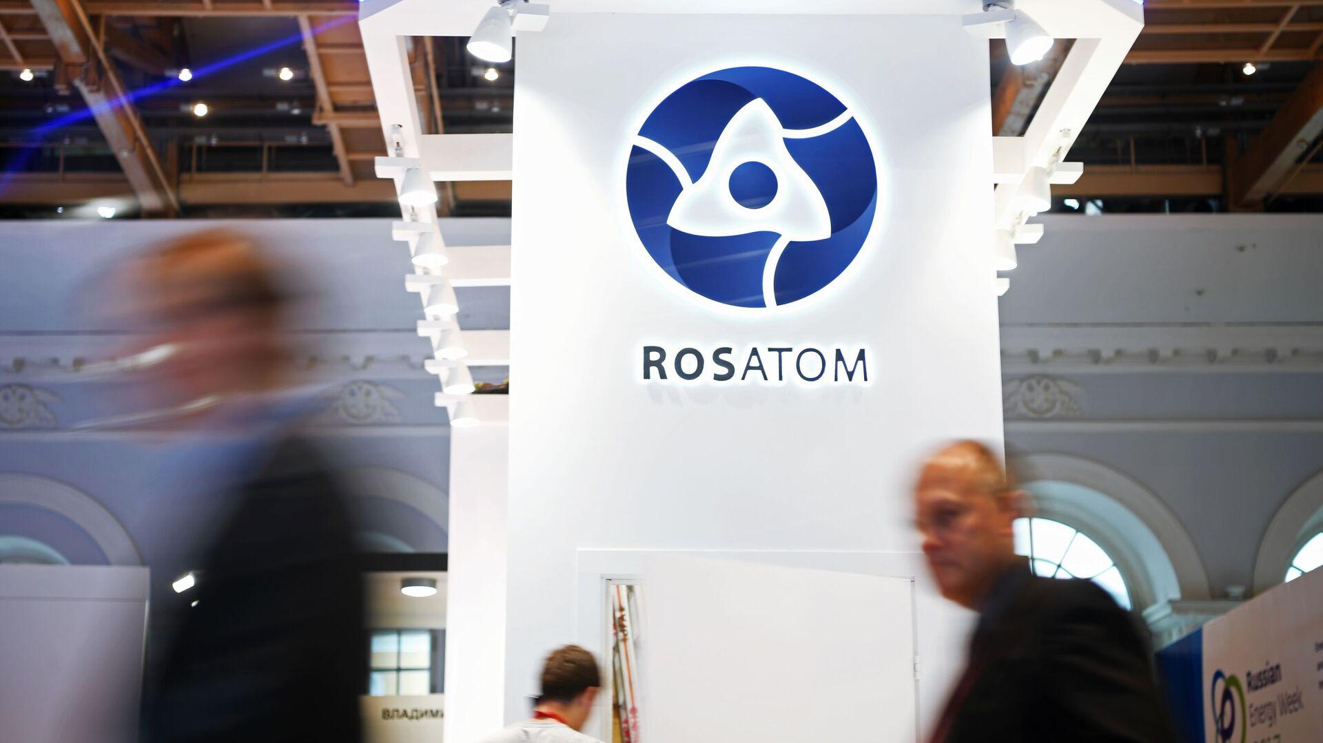 Logo společnosti Rosatom - Sputnik Česká republika, 1920, 19.04.2021