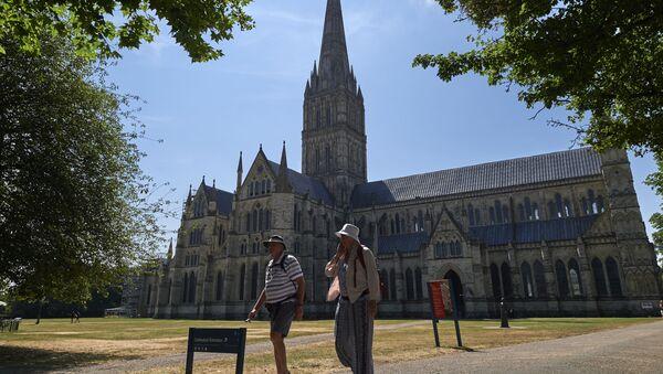 Katedrála v Salisbury - Sputnik Česká republika