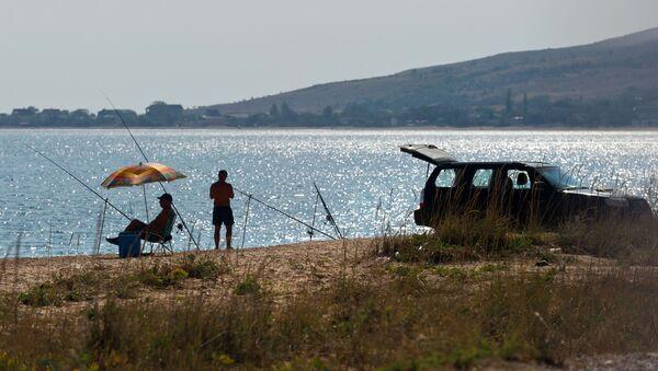 Rybáři na Azovském moři - Sputnik Česká republika
