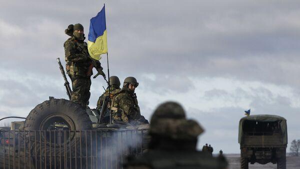 Ukrajinští vojáci. Ilustrační foto - Sputnik Česká republika