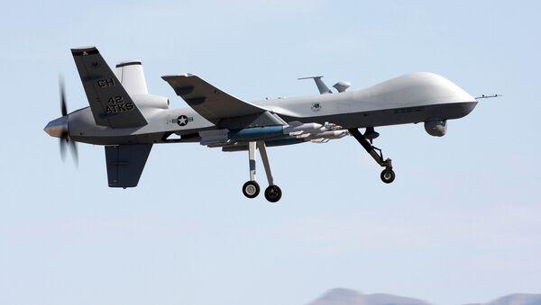 Americký bezpilotní letoun MQ-9 Reaper - Sputnik Česká republika