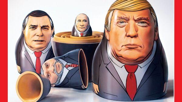 obálka říjnového čísla časopisu Time - Sputnik Česká republika