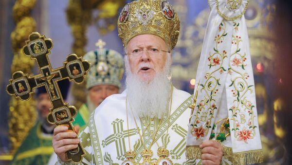 Konstantinopolský patriarcha Bartoloměj - Sputnik Česká republika