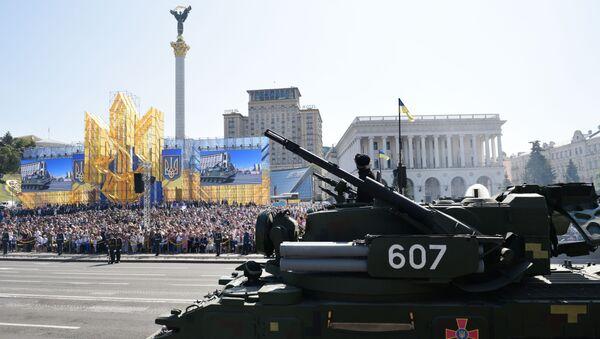 Přehlídka v Kyjevě u příležitosti Dne Ukrajiny - Sputnik Česká republika