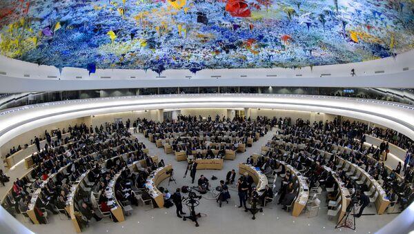 Zasedání Rady pro lidská práva v OSN - Sputnik Česká republika