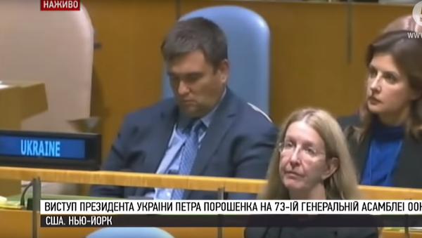 Spící Klimkin - Sputnik Česká republika