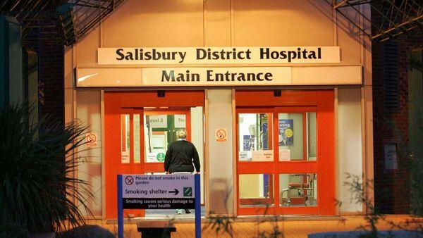Nemocnice  v Salisbury - Sputnik Česká republika