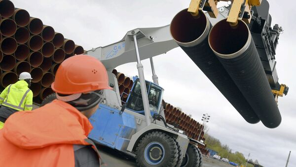 Potrubí pro Severní proud 2 - Sputnik Česká republika
