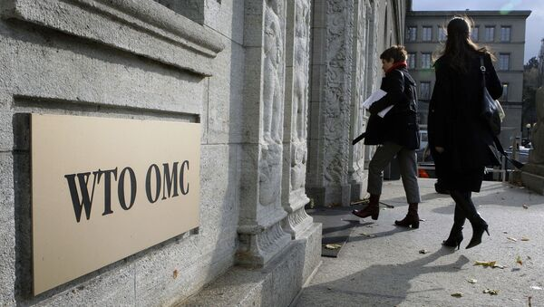 Sídlo WTO ve Švýcarsku - Sputnik Česká republika